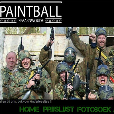 Paintball Spaarnwoude